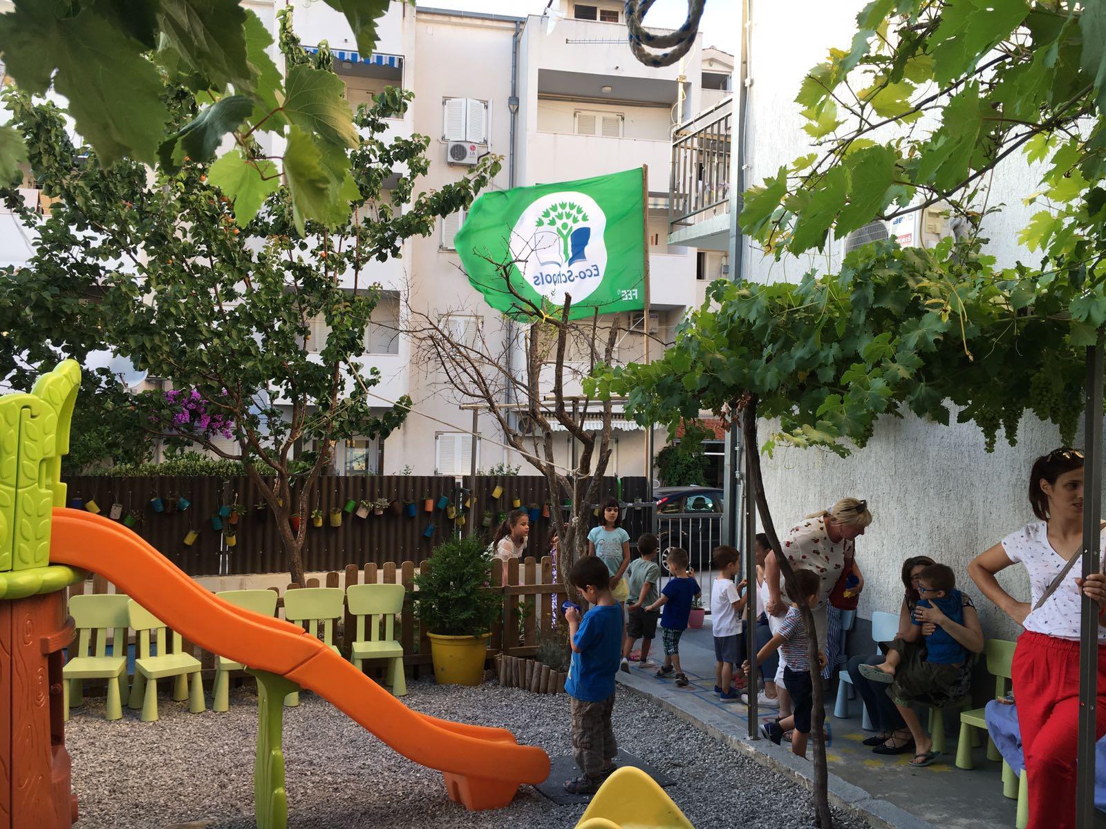 Svečano podizanje Eko zastave- prvi eko vrtić u Solinu